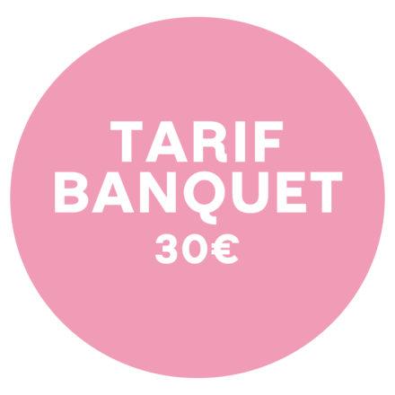 Tarif BANQUET